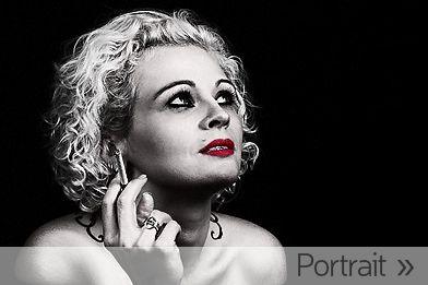 Frauenportrait als Galerieteaser für Portrait-Fotografie