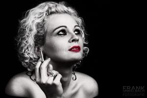 Portrait als Ode an Marilyn Monroe (Portrait)