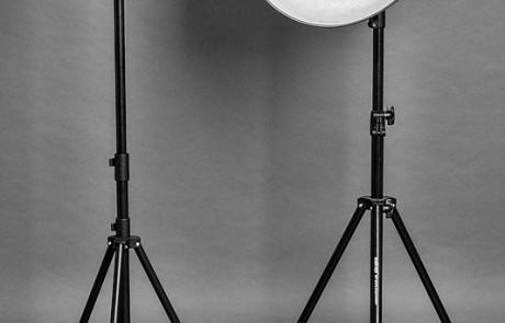 Lichtformer: Tubus und Beautydish
