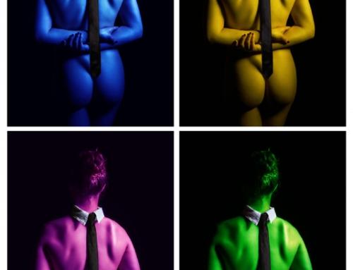 Experimentelles-Warhol-Krawatte