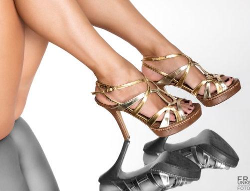 High Heels im Spiegel