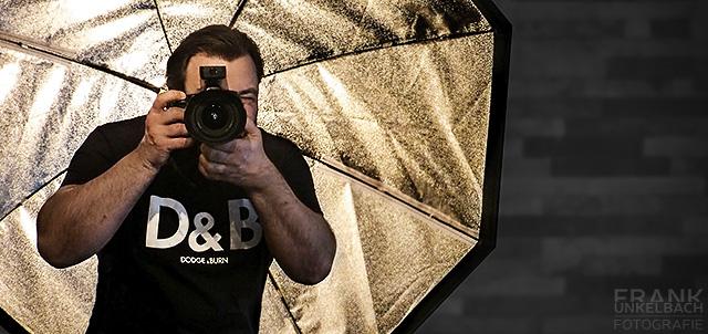 Fotograf aus Aschaffenburg beim Fotografieren