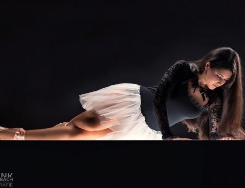 Illuminated ballerina