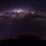 Zentrum der Milchstraße über Namibia (Astrofotografie)