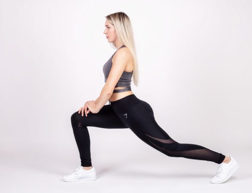 Stretching – Ausfallschritt